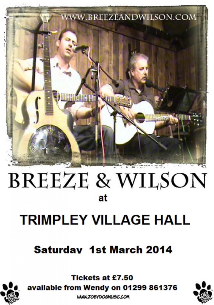 Poster for website - Breeze & Wilson